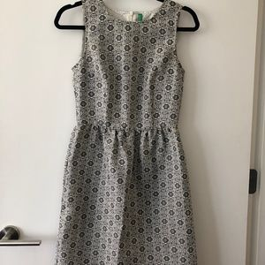 Silver/Grey United Colors Of Bennetton Dress